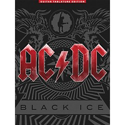 Music Sales AC/DC - Black Ice Guitar Tab Songbook (14001044)