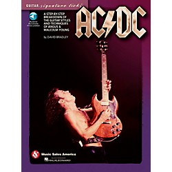 Music Sales AC/DC - Guitar Signature Licks Book/CD (14041352)