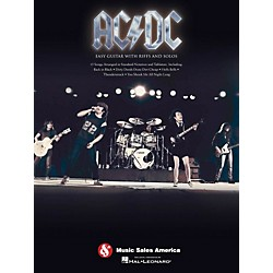 Music Sales AC/DC Easy Guitar TAB With Riffs And Solos (702267)