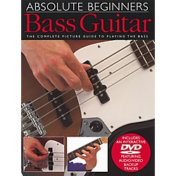 Music Sales Absolute Beginners Bass Guitar Book and DVD (14000983)