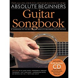Music Sales Absolute Beginners Guitar Songbook (Book/CD) (14041297)