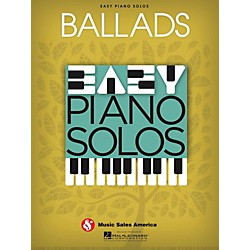 Music Sales Ballads  Easy Piano Solos (14041286)