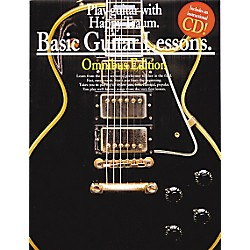 Music Sales Basic Guitar Lessons Books 1,2,3 and 4  (Book/CD) (14014428)