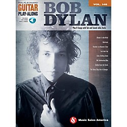 Music Sales Bob Dylan - Guitar Play-Along Volume 148 Book/CD (14041592)