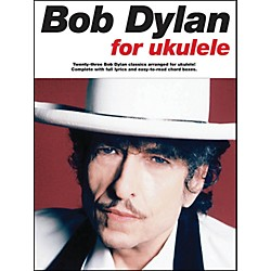 Music Sales Bob Dylan For Ukulele Songbook (14037684)