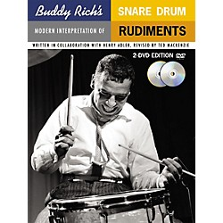 Music Sales Buddy Rich's Modern Interpretation Of Snare Drum Rudiments 2-DVD Edition (14005289)