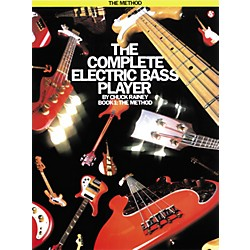 Music Sales Complete Electric Bass Player Book 1 (14007224)