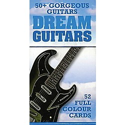 Music Sales Dream Guitars - 52 Great Guitar Cards (14009263)