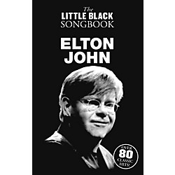 Music Sales Elton John The Little Black Songbook (14041720)