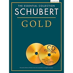 Music Sales Franz Schubert - Schubert Gold The Essential Collection Book/2 CD (14042179)
