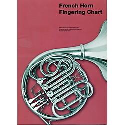 Music Sales French Horn Fingering Chart (14011805)