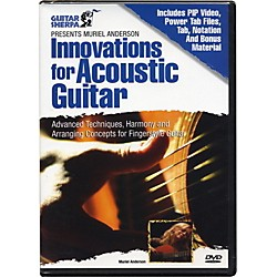 Music Sales Guitar Sherpa Presents Muriel Anderson: Innovations for Acoustic Guitar (DVD) (14001860)
