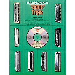 Music Sales Harmonica Jam Trax (Book/CD) (14016860)