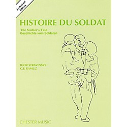 Music Sales Histoire Du Soldat (The Soldier's Tale) Stravinsky Authorized Edition Study Score (14031744)