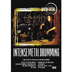 Music Sales Intense Metal Drumming - George Kollias Instructional Drum DVD (14037653)