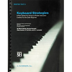 Music Sales Keyboard Strategies Master Text 2 (50453300)