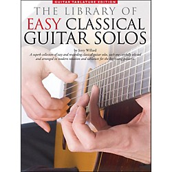 Music Sales Library Of Easy Classical Guitar Solos (Notation & Tablature) (14019029)