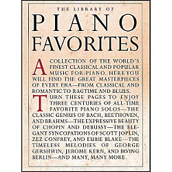 Music Sales Library Of Piano Favorites By Appleby (14019052)