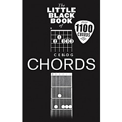 Music Sales Little Black Book Of Chords - Guitar (14042423)