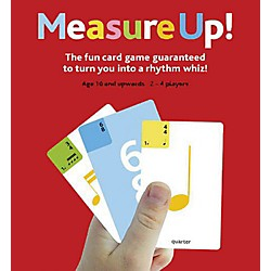 Music Sales Measure Up! Music Card Game (14021122)