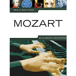 Music Sales Mozart - Really Easy Piano (14041278)