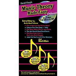 Music Sales Music Theory Made Easy Deluxe Book/CD (14022400)