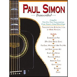 Music Sales PAUL SIMON TRANSCRIBED (14025194)