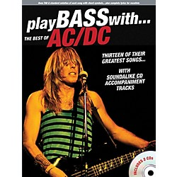 Music Sales Play Bass With The Best Of AC/DC (Book & 2 CDs) (14037641)