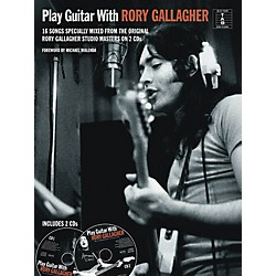 Music Sales Play Guitar With Rory Gallagher Book/2CD's (14041584)