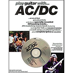 Music Sales Play Guitar with AC/DC Guitar Tab Songbook with CD (14025670)