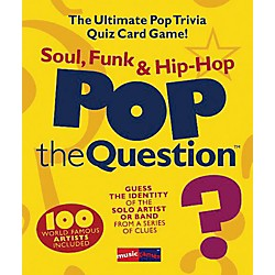 Music Sales Pop The Question Soul, Funk & Hip Hop - The Ultimate Pop Trivia Quiz Card Game (14025862)