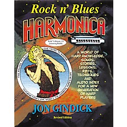 Music Sales Rock N' Blues Harmonica (Book/CD) (14027563)