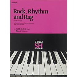 Music Sales Rock Rhythm And Rag Book 1 Piano Solos By Stecher (50453040)