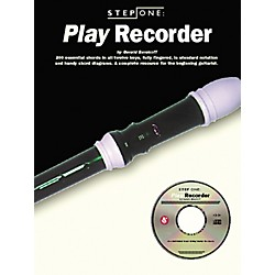 Music Sales Step One: Play Recorder (Book/CD) (14031471)