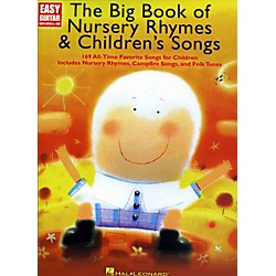 Music Sales The Big Book Of Nursery Rhymes & Children's Songs - Easy Guitar With Tab (703055)