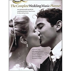 Music Sales The Complete Wedding Music Planner (Book/3-CD Pkg) arranged for piano, vocal, and guitar (P/V/G) (14037459)