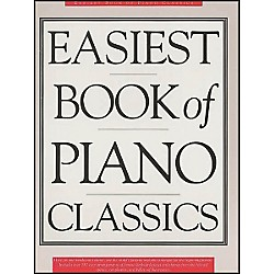 Music Sales The Easiest Book Of Piano Classics (14033243)