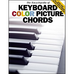 Music Sales The Encyclopedia Of Keyboard Color Picture Chords (14010353)