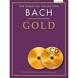 Music Sales The Essential Collection - Bach Gold For Piano Solo Book/2CDs (14042137)