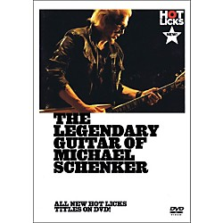 Music Sales The Legendary Guitar Of Michael Schenker - Instructional Guitar DVD (14037640)