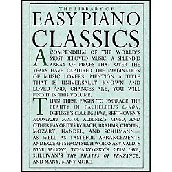 Music Sales The Library Of Easy Piano Classics (14019031)