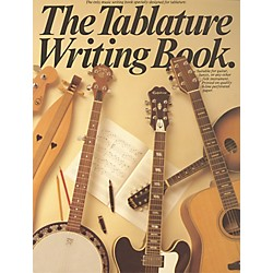 Music Sales The Tablature Writing Book (14032569)