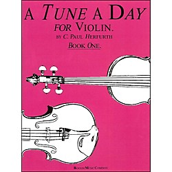 Music Sales Tune A Day Violin Book 1 By Herfurth (14034235)