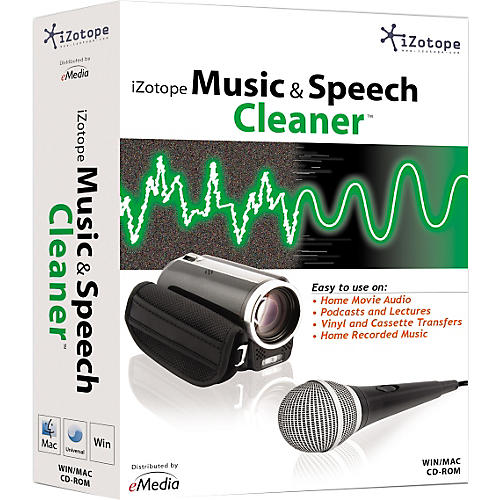 iZotope Music & Speech Cleaner Software-thumbnail