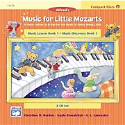Alfred Music for Little Mozarts CD 2-Disc Sets for Lesson and Discovery Books Level 1
