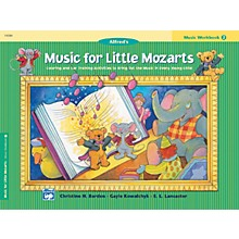 Alfred Music for Little Mozarts Music Workbook 2