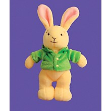 """Alfred Music for Little Mozarts Plush Toy -- J. S. Bunny 5"""" tall (Level 2-4)"""