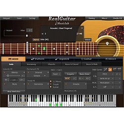 MusicLab RealGuitar Virtual Guitar Software Download (1035-29)