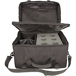 Musician's Gear 6-Space Microphone Bag (MB-6)