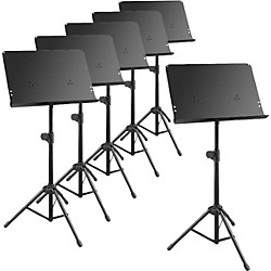 Musician's Gear Deluxe Music Stand 6-Pack (KIT869363)
